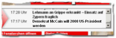 """Demokrat McCain will 2008 US-Präsident werden"""
