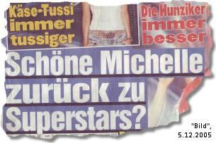 Schöne Michelle zurück zu Superstars?