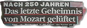 Nach 250 Jahren: Das letzte Geheimnis von Mozart gelüftet