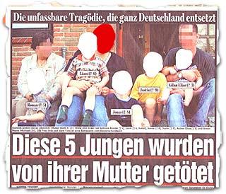 """""""Diese 5 Jungen wurden von ihrer Mutter getötet"""""""