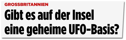 Gibt es auf der Insel eine geheime UFO-Basis?