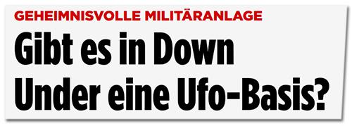 Fliegt hier ein Alien-Mutterschiff?