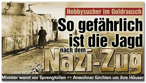Hobbysucher im Goldrausch - So gefährlich ist die Jagd nach dem Nazi-Zug - Minister warnt vor Sprengfallen ++ Anwohner fürchten um ihre Häuser