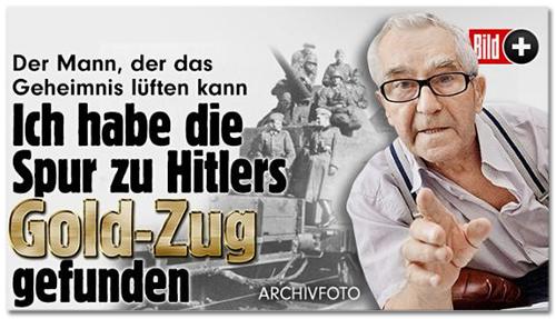 Der Mann, der das geheimnis lüften kann - Ich habe die Spur zu Hitlers Gold-Zug gefunden