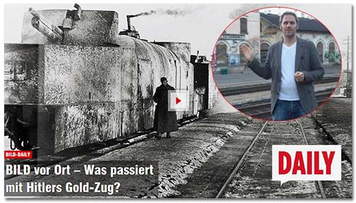 BILD vor Ort - Was passiert mit Hitlers Gold-Zug?