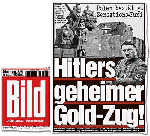 Polen bestätigt Sensations-Fund - Hitlers geheimer Gold-Zug!
