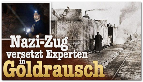 Nazi-Zug versetzt Experten in Goldrausch