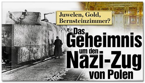 Juwelen, Gold, Bernsteinzimmer? - Das Geheimnis um den Nazi-Zug von Polen