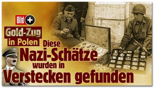 Gold-Zug in Polen - Diese Nazi-Schätze wurden in Verstecken gefunden