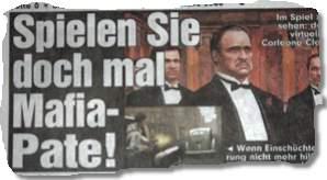 Spielen Sie doch mal Mafia-Pate!