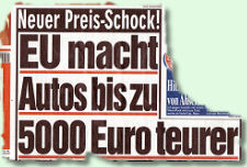EU macht Autos bis zu 5.000 Euro teurer