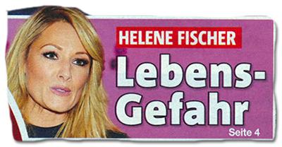 Helene Fischer Unfall