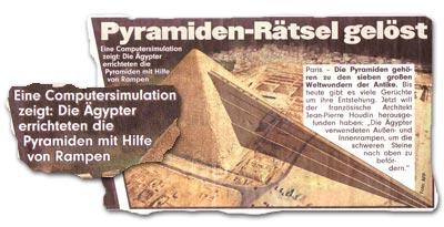 """""""Pyramiden-Rätsel gelöst"""""""