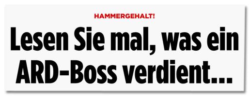 Screenshot Bild.de - Hammergehalt! Lesen Sie mal, was ein ARD-Boss verdient