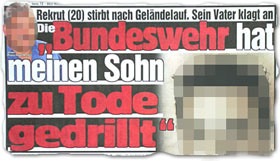 """""""Die Bundeswehr hat meinen Sohn zu Tode gedrillt"""""""