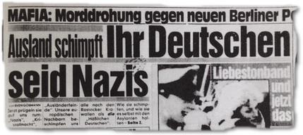Ausland schimpft: Ihr Deutschen seid Nazis