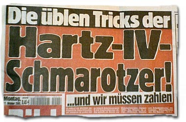 Die üblen Tricks der Hartz IV-Scharotzer!