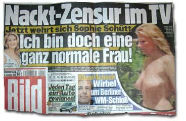 Schütt nackt sophi Naked Sophie