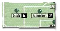 Schulz: 4. Fahrenhorst: 2