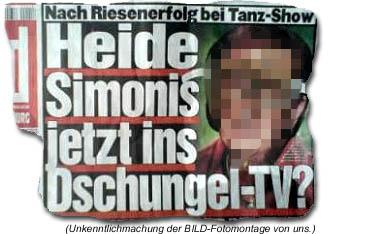 Heide Simonis jetzt ins Dschungel-TV?
