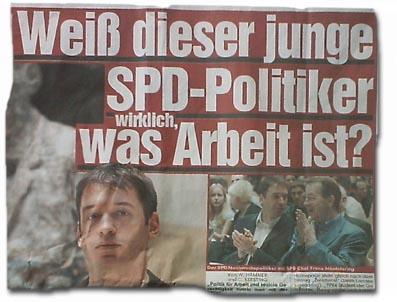 """""""Weiß dieser junge SPD-Politiker wirklich, was Arbeit ist?"""""""
