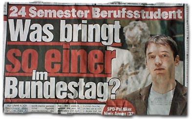 """""""Was bringt so einer im Bundestag?"""""""