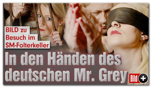 BILD zu Besuch im SM-Folterkeller - In den Händen des deutschen Mr. Grey