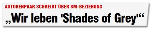 'Wir leben 'Shades of Grey''