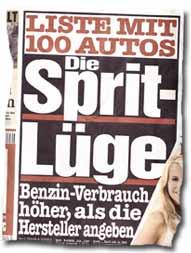 """""""Die Sprit-Lüge: Benzin-Verbrauch höher, als die Hersteller angeben"""""""