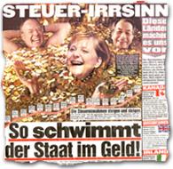 """""""Steuer-Irrsinn: So schwimmt der Staat im Geld!"""""""