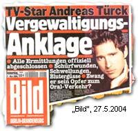 """""""TV-Star Andreas Türck: Vergewaltigungs-Anklage"""""""