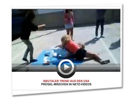 Brutaler Trend in den USA - Prügelmädchen in Netzvideos