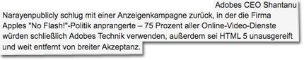Screenshot heise.de