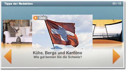Kühe, Berge und Kantone - Wie gut kennen Sie die Schweiz?