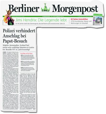 Polizei verhindert Anschlag bei Papst-Besuch