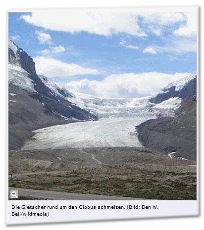 Die Gletscher rund um den Globus schmelzen. (Bild: Ben W. Bell/wikimedia)
