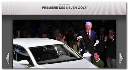 Fotogalerie: Premiere des neuen Golf
