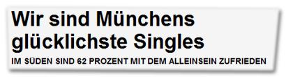 Wir sind Münchens glücklichste Singles