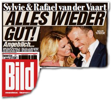 Sylvie & Rafael van der Vaart - ALLES WIEDER GUT! Angeblich...