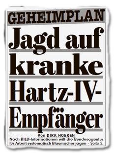 GEHEIMPLAN - Jagd auf kranke Hartz-IV-Empfänger