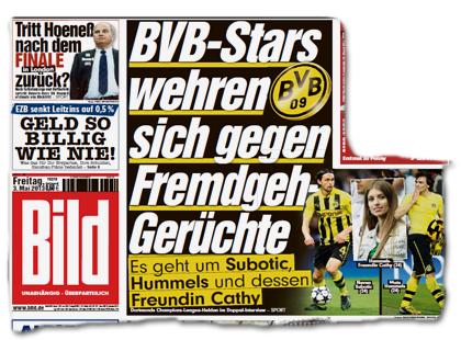 BVB-Stars wehren sich gegen Fremdgeh-Gerüchte - Es geht um Subotic, Hummels und dessen Freundin Cathy