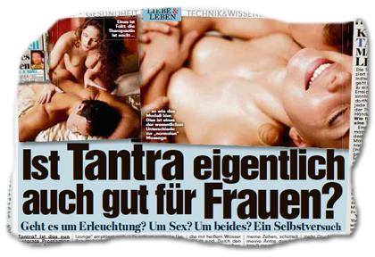 Ist Tantra eigentlich auch gut für Frauen? - Geht es um Erleuchtung? Um Sex? Um beides? Ein Selbstversuch