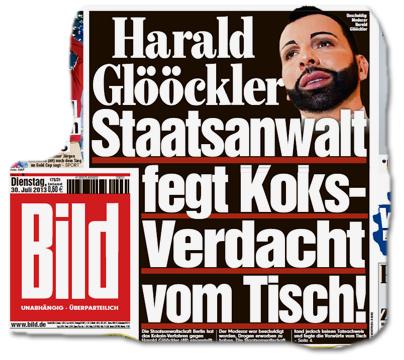 Harald Glööckler - Staatsanwalt fegt Koks-Verdacht vom Tisch!