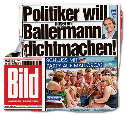 Politiker will unseren Ballermann dichtmachen!