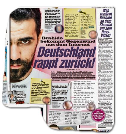Bushido bekommt Gegenwind aus dem Internet - Deutschland rappt zurück!