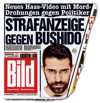 Neues Hass-Video mit Mord-Drohungen gegen Politiker - Strafanzeige gegen Bushido