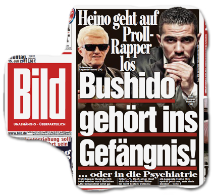 Heino geht auf Proll-Rapper los - Bushido gehört ins Gefängnis! ... oder in die Psychiatrie