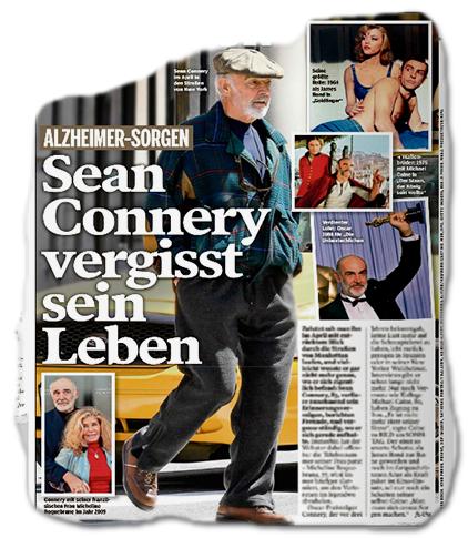 ALZHEIMER-SORGEN - Sean Connery vergisst sein Leben