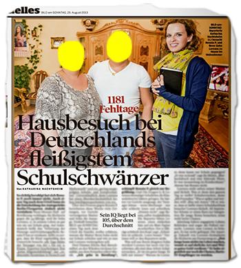 1181 Fehltage - Hausbesuch bei Deutschlands fleißigstem Schulschwänzer