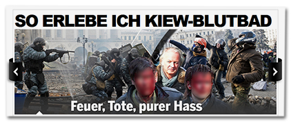 SO ERLEBE ICH KIEW-BLUTBAD - Feuer, Tote, purer Hass